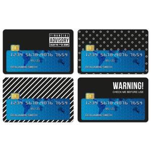 Warning! Credit Card Covers