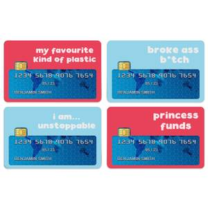 My Favourite Kind Of Plastic Credit Card Covers