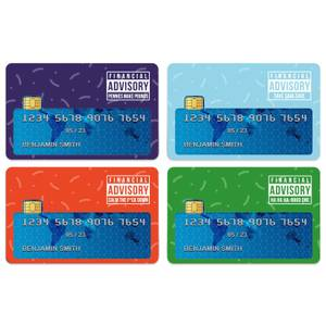 Financial Advisory Credit Card Covers