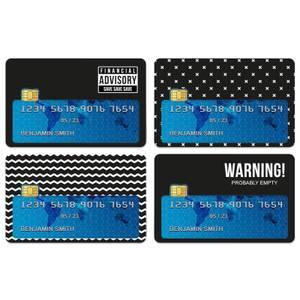 Monotone Financial Advisory Credit Card Covers