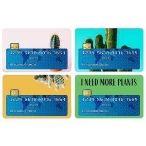 I Need More Plants Credit Card Covers