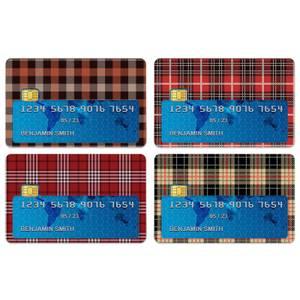 Tartan Mix Credit Card Covers