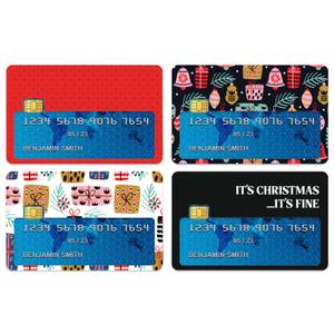It's Christmas...It's Fine Credit Card Covers