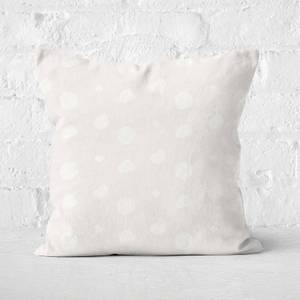 Hermione Chantal Nude Polka Dot Square Cushion