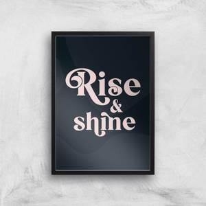 Hermione Chantal Rise And Shine Giclee Art Print
