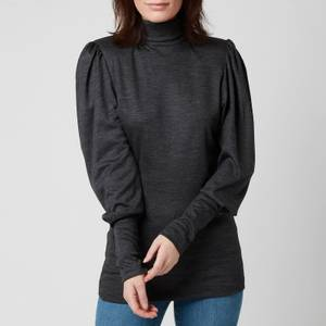 Isabel Marant Women's Gavina Top - Anthracite