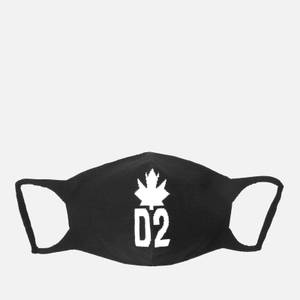 Dsquared2 Men's Maple Leaf Face Mask - Black/White