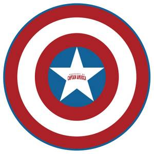 Marvel Captain America Shield Microfiber Beach Towel