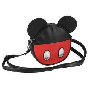 Sac à bandoulière en simili cuir Disney Mickey Mouse avec oreilles