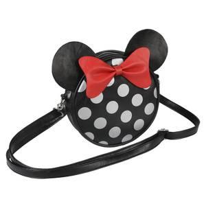 Sac à bandoulière en similicuir Disney Minnie Mouse avec oreilles