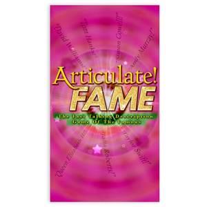 Articulate Fame Board Game