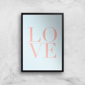 Planeta4 Stacked Love Giclee Art Print