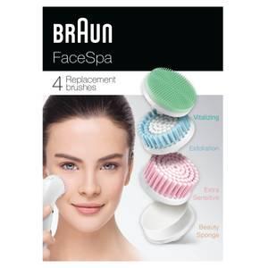 FaceSpa Replacement Brushes - Bonus Edition