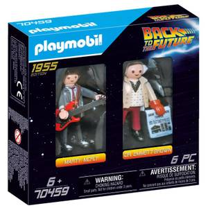 Playmobil Back to the Future Marty and Doc (70459)
