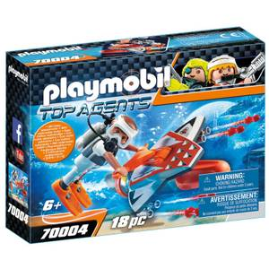 Playmobil Top Agents Spy Team Underwater Rig (70004)