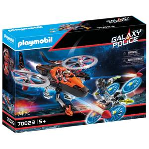 Playmobil Galaxy Police Space Pirates Helicopter (70023)