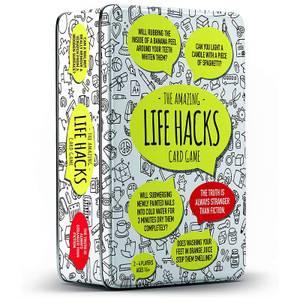 Life Hacks Tin Card Game
