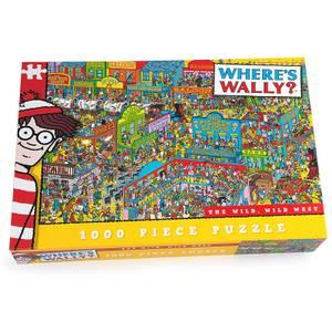 Puzle ¿Dónde está Wally? El salvaje oeste (1000 piezas)