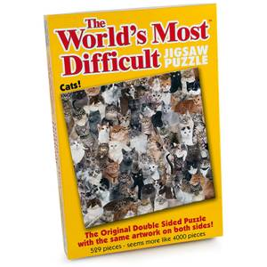 Cats The World's Most Difficult Jigsaw Puzzle (529 Pieces)