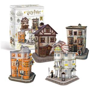Harry Potter - Diagon Alley 4 in 1 3D Jigsaw Puzzle