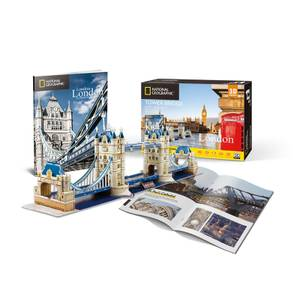 National Geographic - Tower Bridge 3D Jigsaw Puzzle