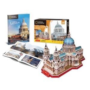 National Geographic - St Pauls 3D Jigsaw Puzzle