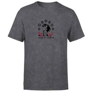 Sonic The Hedgehog Rings Unisex T-Shirt - Black Acid Wash