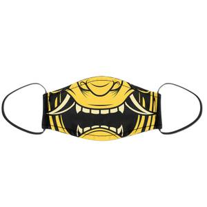 Yellow Oni Face Mask
