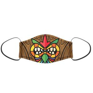 Tiki Face Mask