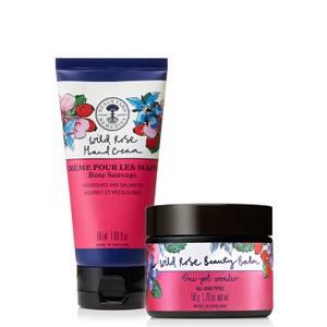 Neal's Yard Remedies Wild Rose Beauty Balm and Wild Rose Hand Cream Duo