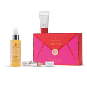 Elizabeth Arden Eight Hour Cream All-Over Miracle Oil, 3 Piece Skin Care Gift Set - Worth $62.00