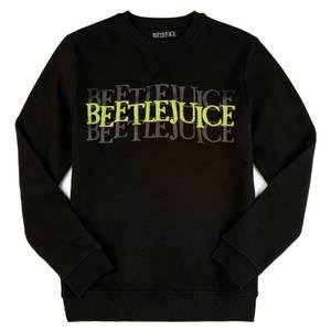 Beetlejuice Say It Three Times Sweatshirt - Black