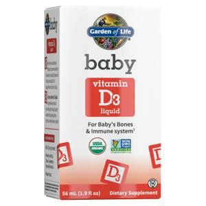 Garden of Life Organic Baby - Vitamin D3 - 56ml