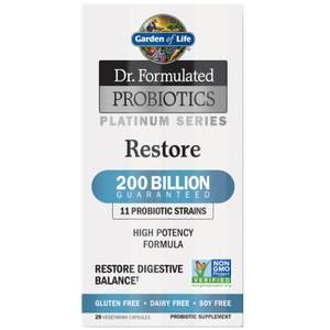 Garden of Life Microbiomes Platinum Restore 200B - Cooler - 30 Capsules