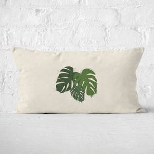 Cheese Plant Leaf Mix Rectangular Cushion