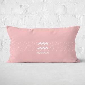 Pastel Aquarius Rectangular Cushion