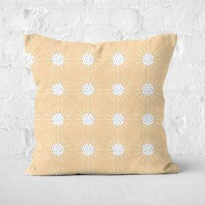 Polka Sun-Rays Square Cushion