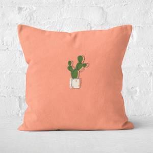 Cute Cactus Square Cushion