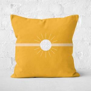 Sun-rays Square Cushion