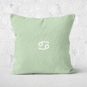Pastel Cancer Square Cushion