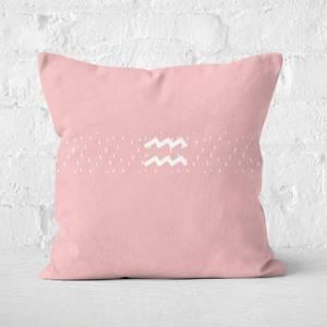 Pastel Aquarius Square Cushion