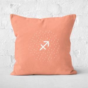 Pastel Sagittarius Square Cushion