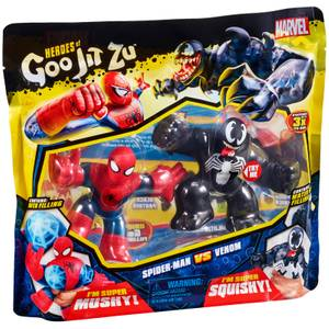 Heroes of Goo Jit Zu Marvel Versus Pack - Spider-Man VS. Venom