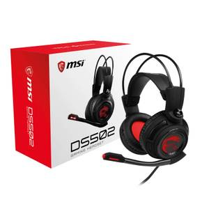 MSI DS502 7.1 Virtual Surround Sound USB Gaming Headset
