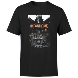 DC Fandome Batman Men's T-Shirt - Black