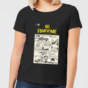 DC Fandome Women's T-Shirt - Black