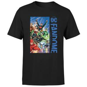 DC Fandome Justice League Men's T-Shirt - Black