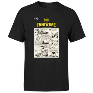 DC Fandome Men's T-Shirt - Black