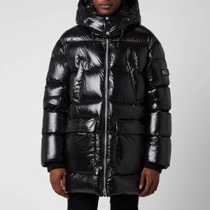 Mackage Men's Kendrick Medium Down Hooded Long Coat - Black