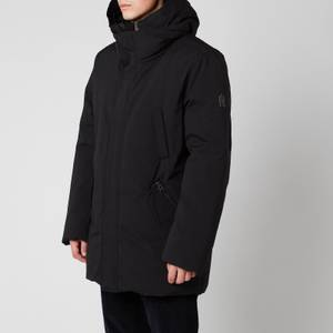 Mackage Men's Edward Down Coat With Removable Hooded Bib - Black